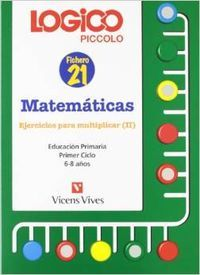 Logico piccolo ejercicios multiplicar ii matematicas