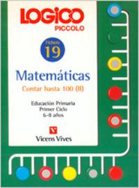 Logico piccolo 19 contar hasta 100 ii matematicas educacion