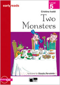Two monsters. book + cd