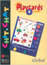 Chit chat playcards 4. ingles. material auxiliar