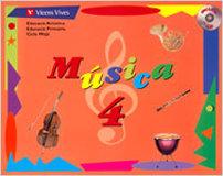 Musica 4 catala +cd n/e