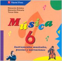 Musica 6 cd material auditivo para el aula