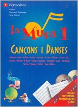 Musa 1 cançons i danses+2cd's,la