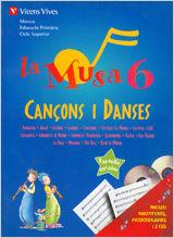 Musa 6 cançons i danses+2cd's,la