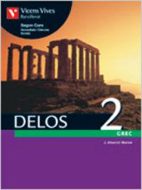 Delos 2. libro del alumno. griego. segundo curso