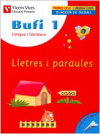 Bufi 1ºep lletres i paraules