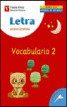 Cuaderno vocabulario 2 letra 2004