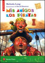 Mis amigos los piratas piñata