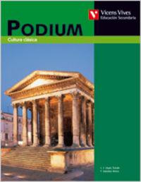 Podium libro do alumno cultura clasica tercer curs
