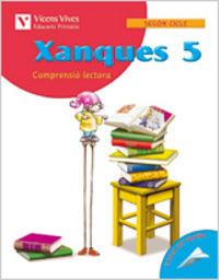 Xanques quadern 5. llengua i literatura. tercer cu