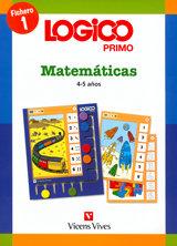 Logico primo matematicas 1 (4-5 años)