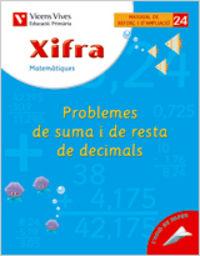 Xifra quadern 24.  matematiques.  reforç i ampliac