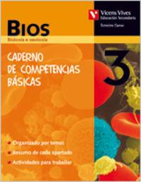 Caderno biologia 3ºeso galicia competencias basica