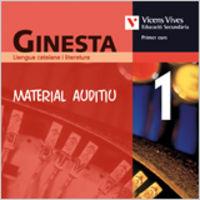 Ginesta 1 cd material auditiu. llengua i literatur