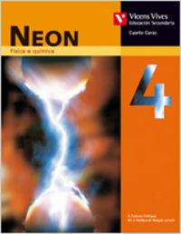 Neon 4. libro do alumno. fisica e quimica.