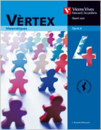 Vertex 4 valencia. llibre de l'alumne. matematique