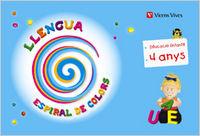 Llengua 2 ei 4-5 anys catalan espiral colors 10
