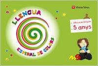 Llengua 3 ei 5-6 anys catalan espiral colors 10