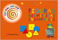 Figuras geometricas 1 ei 3-4 años espiral magica 1