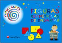 Espiral magica 2 figuras xeometricas 4 anys 10