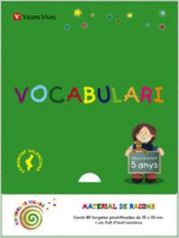 Vocabulario 3 ei 5-6 anys valencia espiral magica