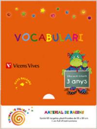 Vocabulario 1 ei 3-4 anys baleares espiral magica