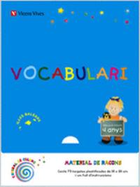 Vocabulario 2 ei 4-5 anys baleares espiral magica