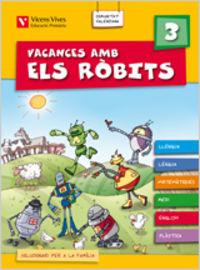 Vacances amb els robits 3+ solucionari valencia