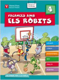 Vacances amb els robits 4+ solucionari valencia