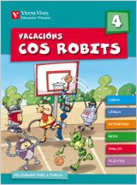 Vacacions cos robits 4. libro do alumno+solucionario