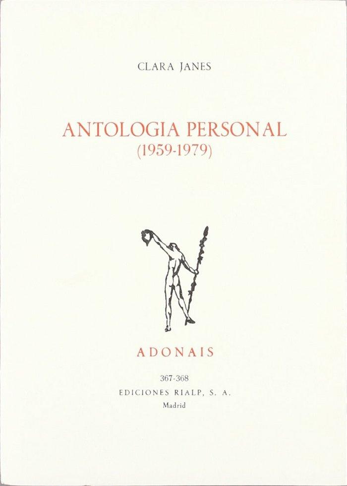 Antologia personal (1959-1979)