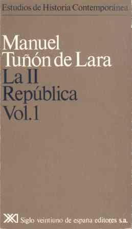 Ii republica. vol. 1,la