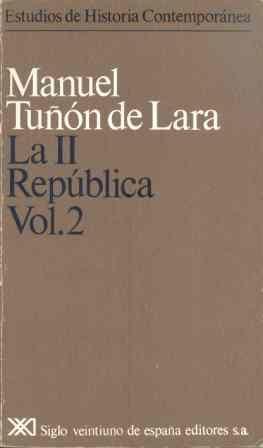 Ii republica. vol. 2,la