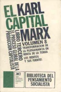 Capital, el.libro terc. vol. 8