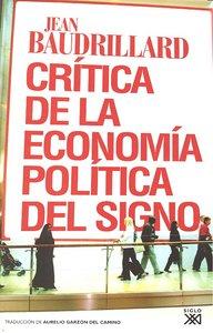 Critica de la economia politica del signo