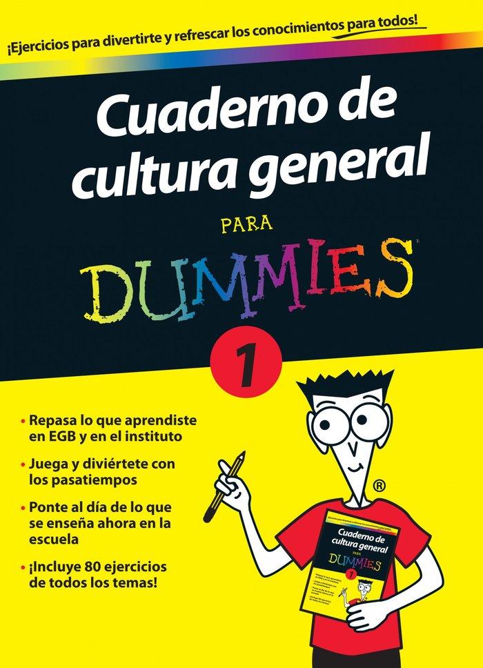 Cuaderno de cultura general para dummies 1