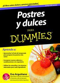 Postres y reposteria para dummies