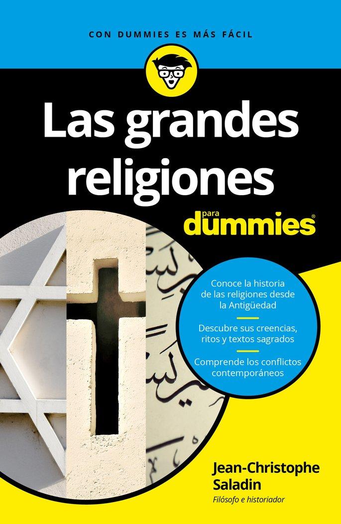 Grandes religiones para dummies,las