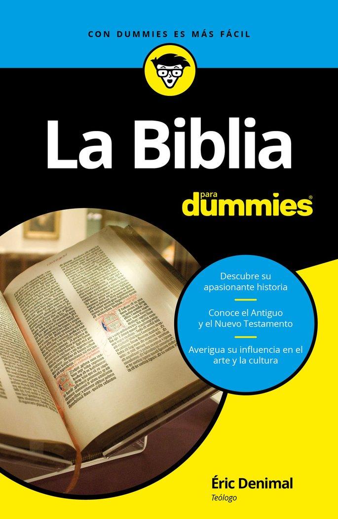 Biblia para dummies,la