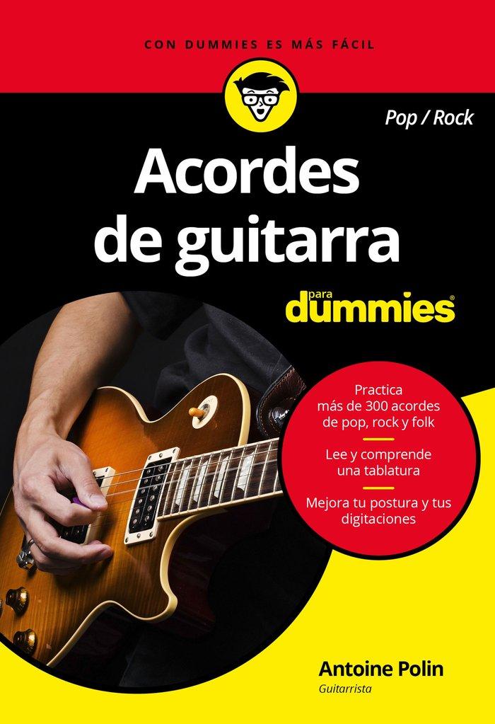 Acordes de guitarra (pop rock) para dummies