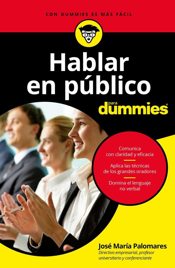 Hablar en publico para dummies