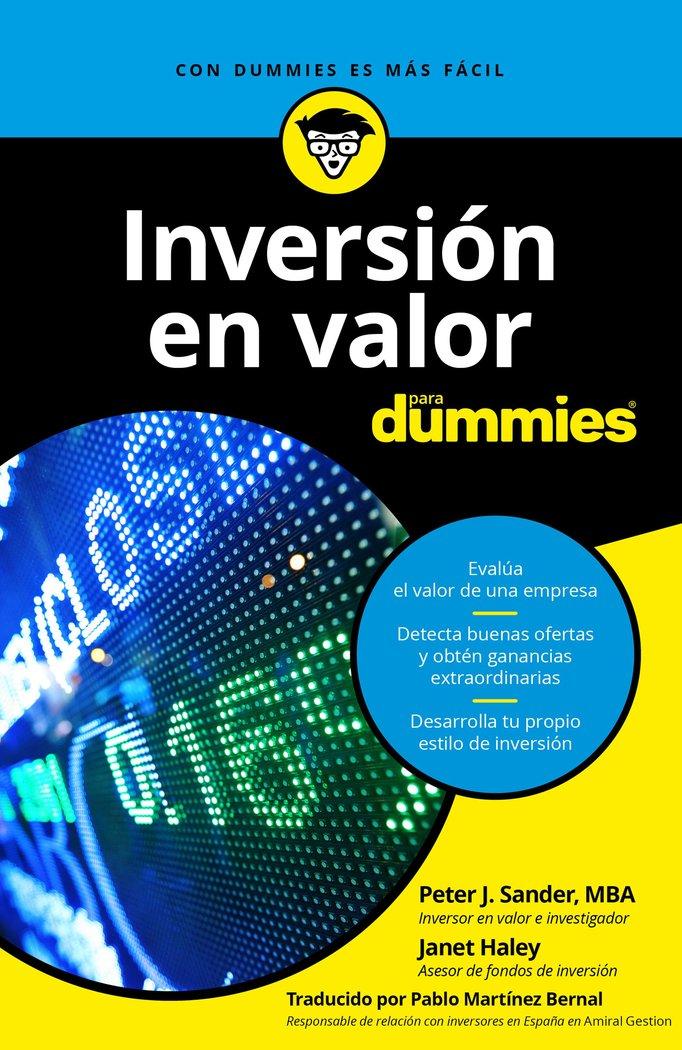 Inversion en valor para dummies