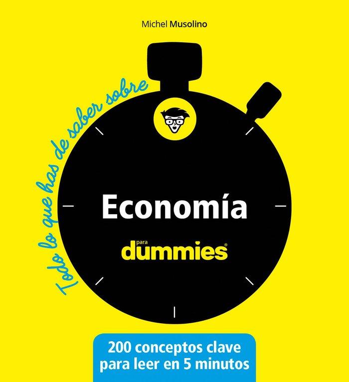 Todo lo que has de saber sobre economia para dummies