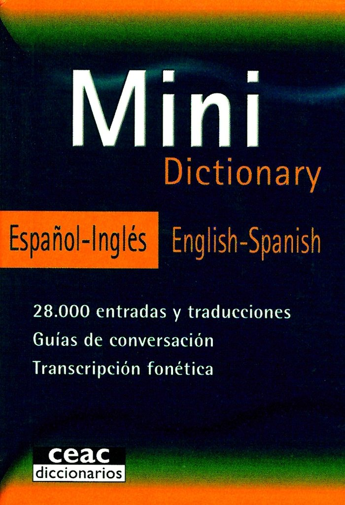Mini dictionary español-ingles