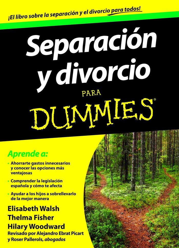 Separacion y divorcio para dummies