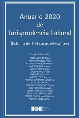 Anuario de 2020 de jurisprudencia laboral estudio de 100 c