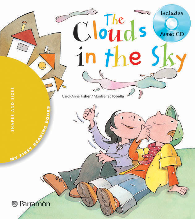The clouds in the sky
