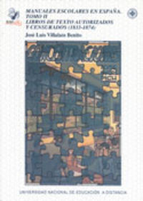 Manuales escolares en españa. tomo ii: libros de texto autor