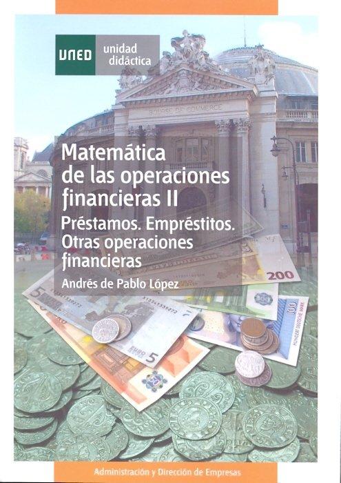 Matematica de las operaciones financieras ii