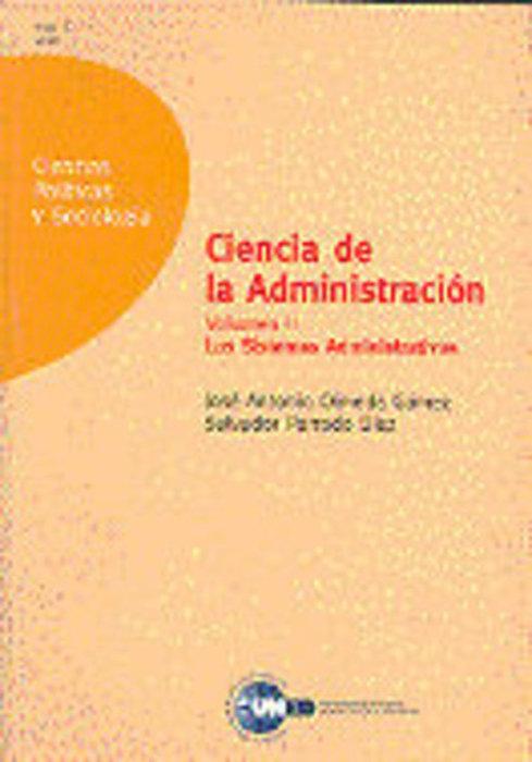Ciencia de la administracion. los sistemas administrativos.